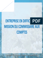Entreprise en Difficulte Et Cac Seminaire Guadeloupe