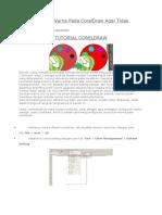 Cara Mengatur Warna Pada CorelDraw Agar Tidak Kusam
