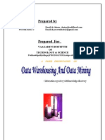 DataWare Housing Data Mining