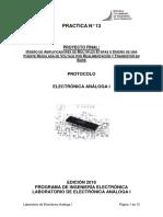 13.Diseño de amplificadores de multiples etapas