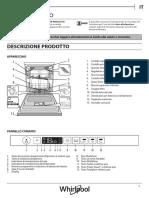 Manuale lavastoviglie Whirpool