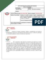 GUIA -TALLER 01, SEGUNDO PERIODO EDUCACION FISICA GRADO 4°