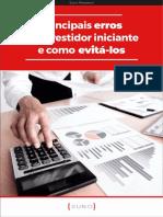 eBook - Principais erros do investidor iniciante e como evitá-los
