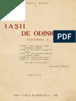 Iasii de Odinioara Vol. II - Rudolf Sutu - OCR