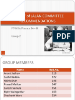 Jalan Committe Recommendations - Fin DivB - Group2