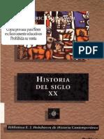Hobsbawm, Eric- Historia del siglo XX