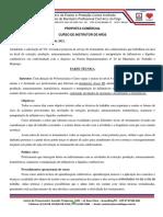 Proposta Instrutor - NR20
