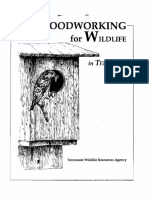 Woodworking for Wildlife Instruction Booklet
