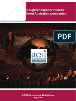 Corporate Governance Guidelines (ACSI)