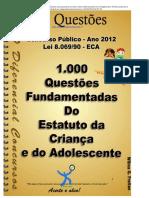 1000 questões ECA 1-10