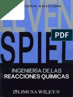 (1) Octave Levenspiel - Ingeniería de Las Reacciones Químicas (2004)