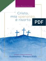 Sussidio Quaresima-Pasqua 2021 Con Tracce Audio