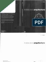 Análisis de La Arquitectura - Simon Unwin