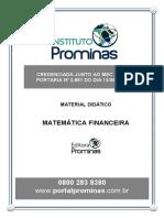 Módulo 1 - Matemática Financeira