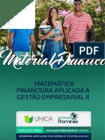 Módulo 3 - Matemática Financeira Aplicada à Gestão Empresarial - 2