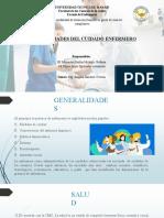 Generalidades del cuidado enfermero
