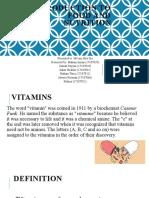 food presentation Vitamin B