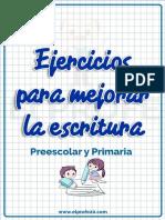 Cuadernillo Ejercicios Escritura (1)