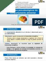 Aula - Aspectos psicobiológicos alimentar