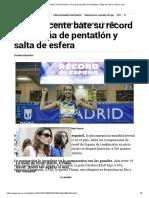 Atletismo_ María Vicente bate su récord de España de pentatlón y salta de esfera _ Marca.com