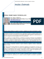 SISTEMA TRIBUTARIO VENEZOLANO « Boletín de Investigación y Postgrado