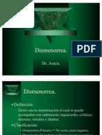 1.Dismenorrea y Síndrome Premenstrual.