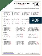 Algebra.-Equations.-Solving-Linear-Equations-C.-ANSWERS