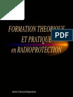 Formation Theorique Et Pratique en Radioprotection