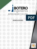 HV BOTERO IBAÑEZ - DEMOLICION 2014