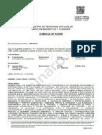 Carta poder de Ana María Risi al abogado Jorge Luis Picón