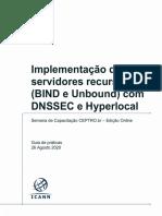 Implementacao de servidores recursivos guia de praticas semcap ceptro br