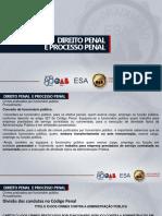 SLIDES ESA-PI  CRIMES PRATC POR FUNCIONARIOS PÚBLICOS