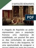 A FRANÇA DE NAPOLEÃO