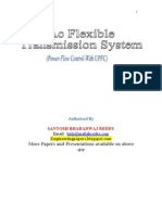 Power Flow Control With Upsc