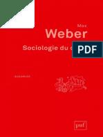 Sociologie et droit dans la pensée de Max Weber