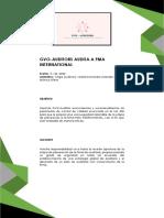 PMA - INTERNACIONAL auditoria de calidad