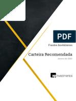 Carteira-Recomendada-de-FIIs-Janeiro-de-2020