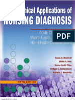 clinical application of nursing diagnoses