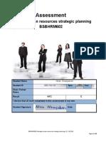 Assess BSBHRM602 Manage HR SP v1.3-1