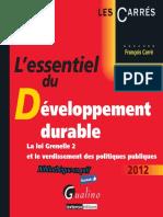 Lessentiel Du Développement Durable