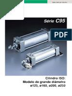 MANUAL CILINDRO SERIE C95 SMC PORTUGUÊS