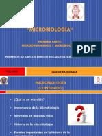 1) Microbiología y Microorganismos