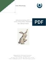 Der Metall-Hase Jahresvorschau 2011 unter Feng-Shui-Aspekten