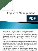 Chap2 Logistics Management