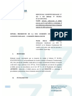 Escrito Vizcarra Cp - 422 Antejuicio