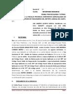 Denuncia cobros incentivos UGEL Pallasca