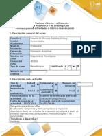 Guia de actividades y rubrica de evaluacion - Fase 3 - Hipotesis y Diagnostico.