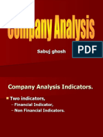 Company analysis Ratio