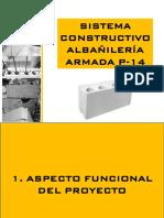 SISTEMA CONSTRUCTIVO ALBAÑILERÍA ARMADA P 14