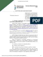 LO Nº 8546-2007 - Contratação Temporária